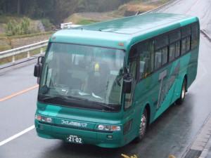 つくしの観光バス