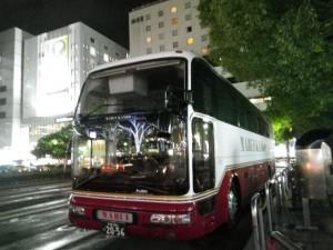 千葉県の丸井観光バスエアロクイーンⅡ