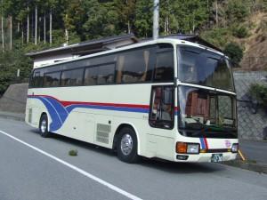 ふそうエアロクイーン平成3年式中2階バス