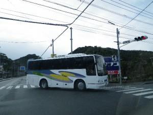 第一交通の中型バス