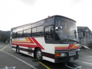 西鉄観光バスの中型バス