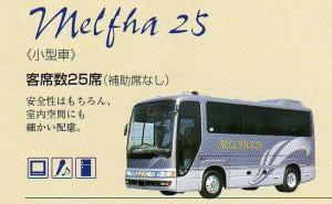 エスエス観光バス小型メルファ25人乗