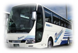 東京の南街観光バス大型エアロクイーン