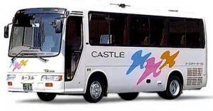 京都カースルチャーターバス小型リエッセ