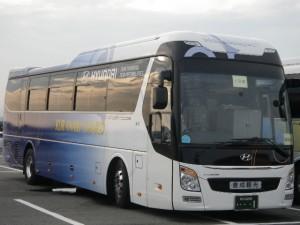 倉成観光Hyundai バス